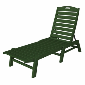 """POLYWOOD® Nautical 79"""" Chaise - Stackable"""
