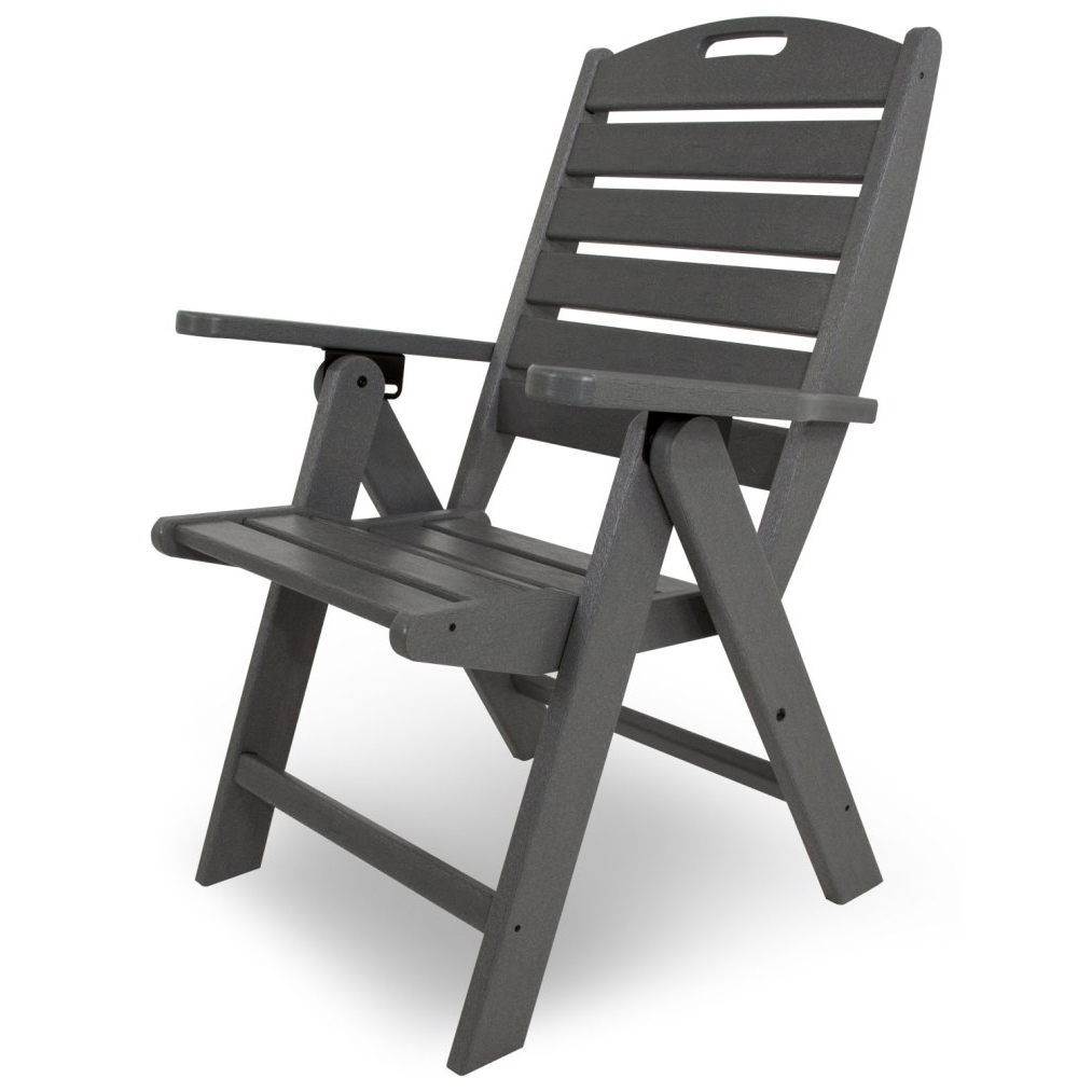 POLYWOODu0026reg; Nautical Highback Chair