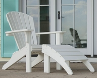 POLYWOOD® Outdoor Seashell Collection