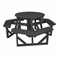 "POLYWOOD® Park 36"" Round Picnic Table"