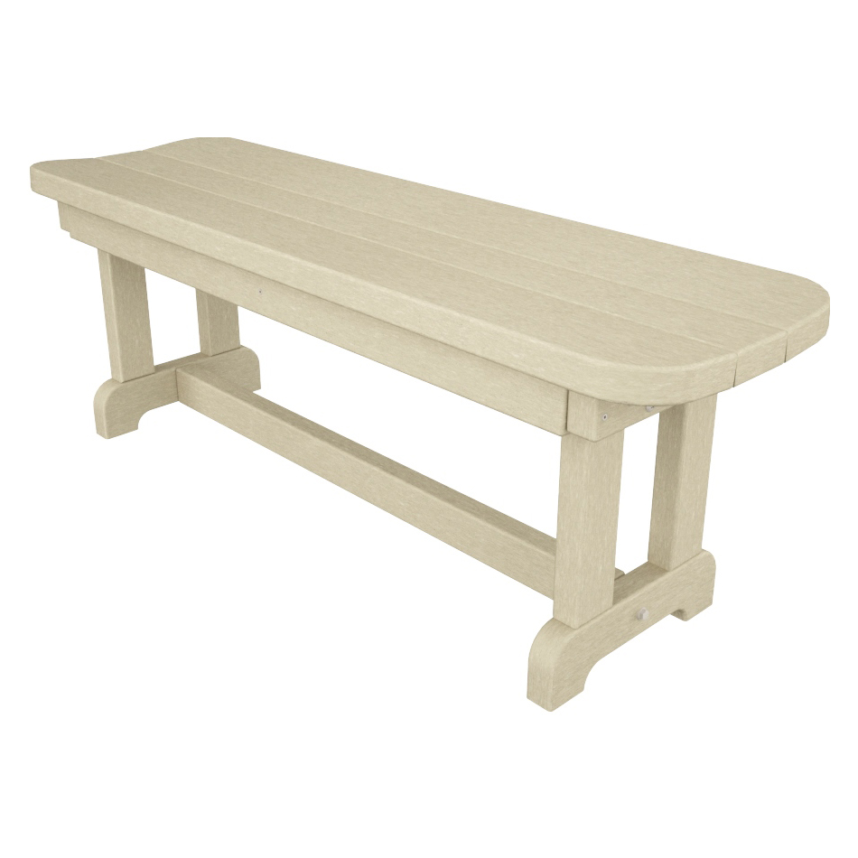 Polywood 174 Park Collection 48 Backless Bench