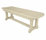 "POLYWOOD® Park 48"" Backless Bench"