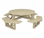 "POLYWOOD® Park 53"" Octagon Table"