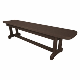 "POLYWOOD® Park 72"" Harvester Backless Bench"