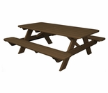 "POLYWOOD® Park 72"" Picnic Table"