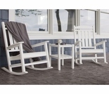 POLYWOOD® Presidential Rocking Chair 3 Piece Set