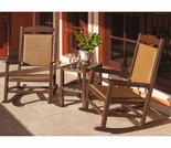POLYWOOD® Presidential Woven Rocker 3-Piece Set