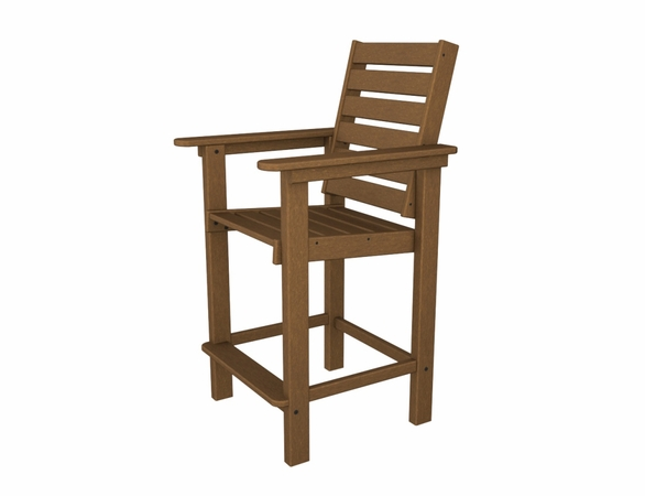 """POLYWOOD® Captain 44"""" Counter Chair"""