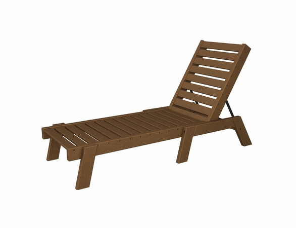 "POLYWOOD® Captain 77"" Chaise"
