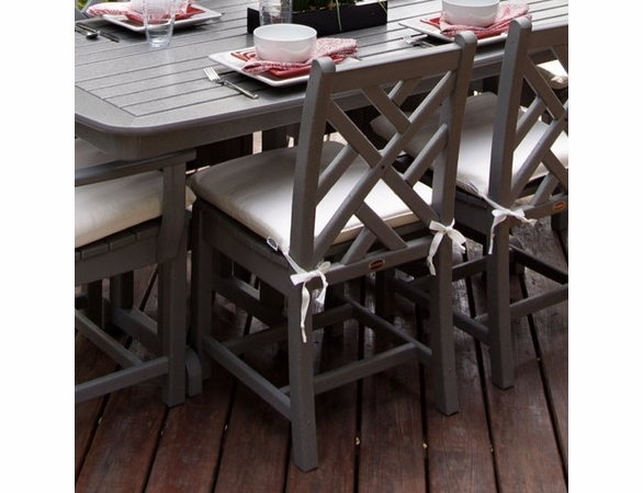 """POLYWOOD® Chippendale 35"""" Dining Side Chair"""