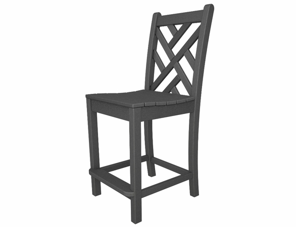 "POLYWOOD® Chippendale 41"" Counter Side Chair"