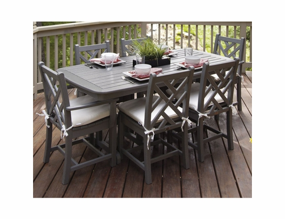 POLYWOOD® Chippendale 6 Seat Dining Set