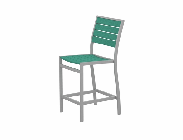 POLYWOOD® Euro Counter Side Chair