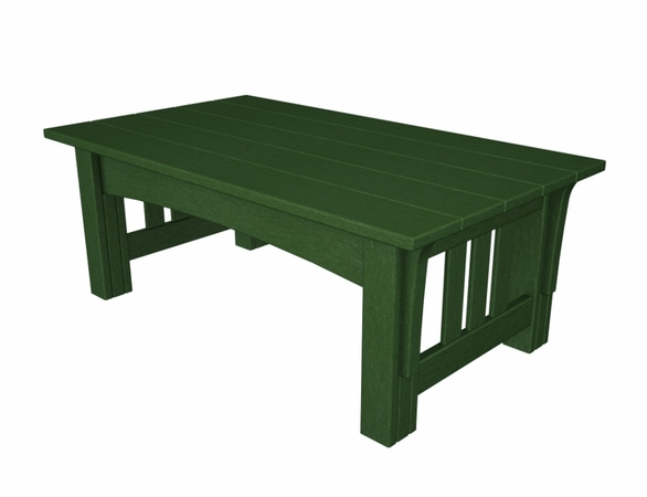"""POLYWOOD® Mission 18"""" Coffee Table"""