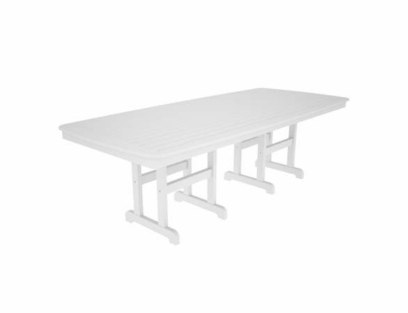 "POLYWOOD® Nautical 44"" x 96"" Dining Table"