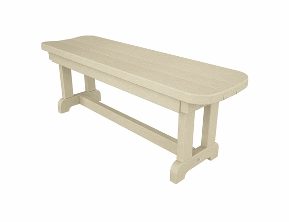 """POLYWOOD® Park 48"""" Backless Bench"""