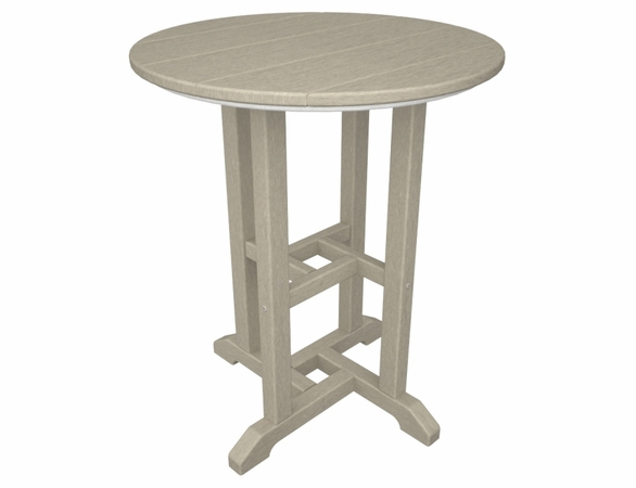 """POLYWOOD® Traditional 24"""" Round Dining Table"""