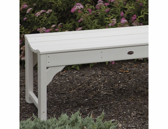 """POLYWOOD® Traditional Garden 48"""" Backless Bench"""