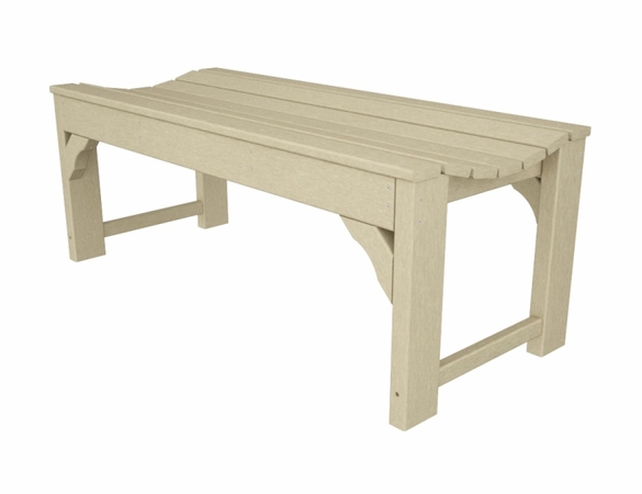 """POLYWOOD® Traditional Garden 60"""" Backless Bench"""