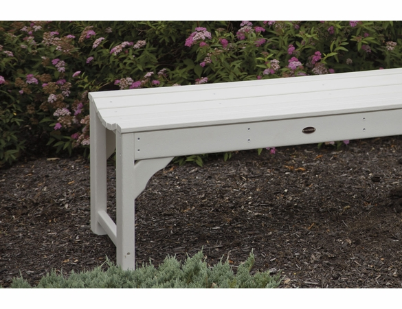 Polywood 174 Poly Traditional Garden 60 Quot Backless Bench