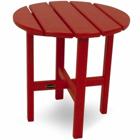 """POLYWOOD® Round 18"""" Side Table"""