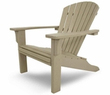 POLYWOOD® SeaShell Adirondack Chair