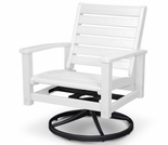 POLYWOOD® Signature Swivel Rocking Chair
