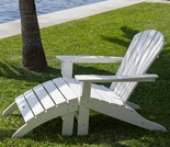 POLYWOOD® South Beach Adirondack 2-Piece, 1 Seat Set