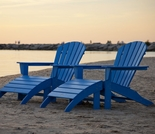 POLYWOOD® South Beach Adirondack 4 Piece Set