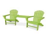 POLYWOOD® South Beach Tete-a-Tete Set