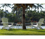 POLYWOOD® South Beach Ultimate Adirondack 3-Piece 2 Seat Set
