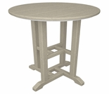 "POLYWOOD® Traditional 24"" Round Dining Table"
