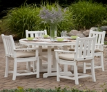 POLYWOOD® Traditional Garden 4 Seat Dining Set