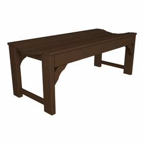 "POLYWOOD® Traditional Garden 48"" Backless Bench"