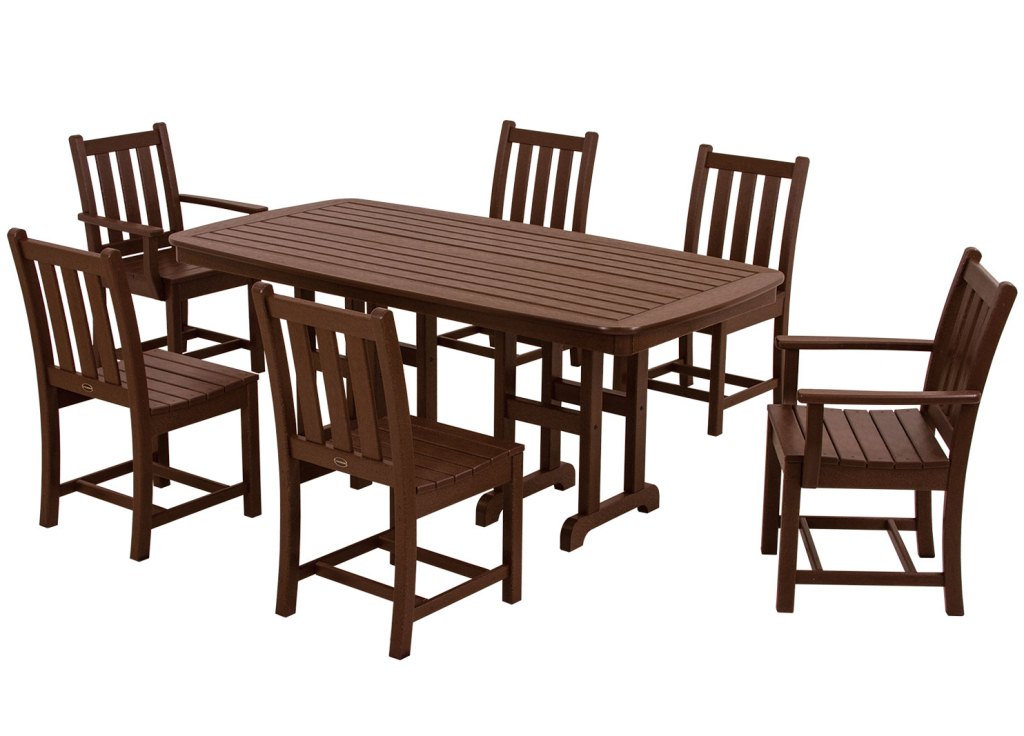 POLYWOOD® Traditional Garden 6 Seat Dining Set