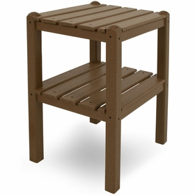 POLYWOOD® Two Shelf Side Table