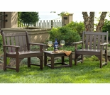 POLYWOOD® Vineyard Garden Chair 3 Piece Set