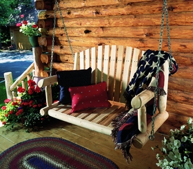 Porch Swing - 4' or 5' Length