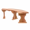 Quarter Round Backless Garden Bench Kit