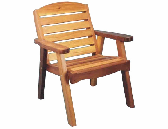Cedar Wood Deck Chair