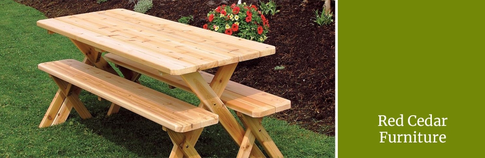 Red Cedar Furniture Chairs Swings Tables Outdoor Furniture Plus