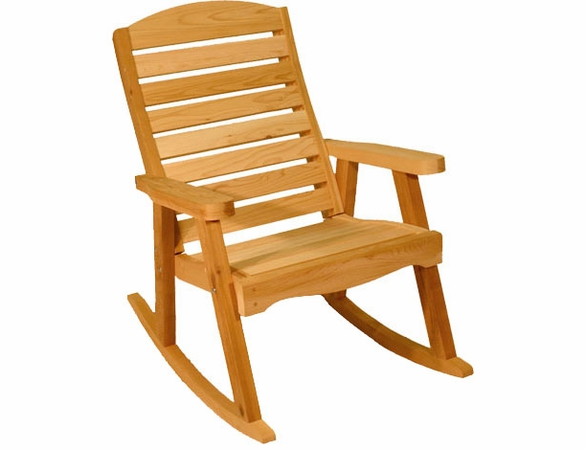 Red Cedar Rocking Chair
