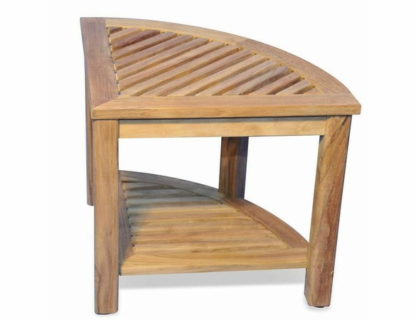 "Regal Teak 19"" Corner Table"