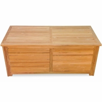"Regal Teak 56"" Patio Storage Chest"
