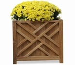 Regal Teak Chippendale Planter