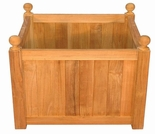 Regal Teak Mission Planter