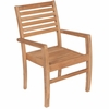 Royal Teak Avant Teak Stacking Chair - Back in Stock End of July