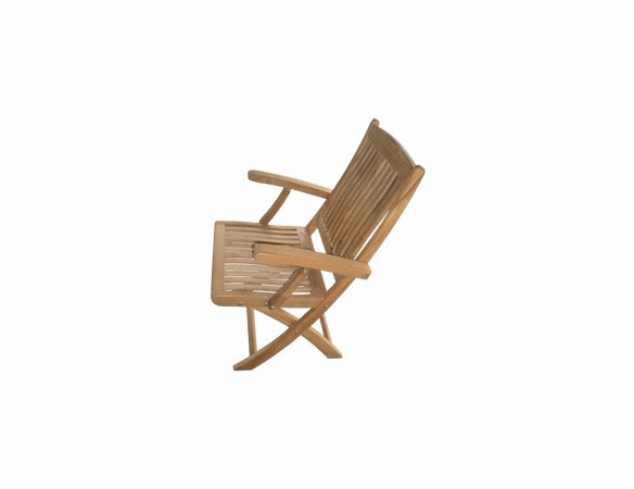 Sailor Teak Folding Armchair – OutdoorFurniturePlus.Com