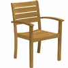 Three Birds Sedona Teak Stacking Armchair - Set of 2