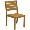 Three Birds Sedona Teak Stacking Side Chair - Set of 2